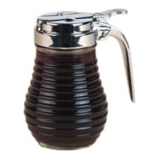 American Metalcraft BSD64 Glass 6 Oz Beehive Syrup Dispenser
