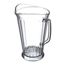 Carlisle® 558707 Crystalite® 60 Oz. Clear Pitcher