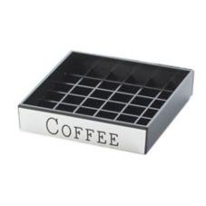 "Cal-Mil 632-1 Square 4"" ""Coffee"" Spigot Drip Tray"