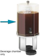 Cal-Mil® C972-2BEV Clear Acrylic 2 Gallon Beverage Chamber Only