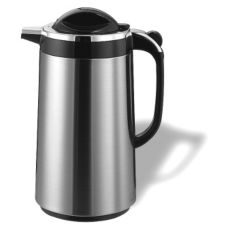 Service Ideas TPS10D Push N' Serv Stainless 1 Liter Decaf Server