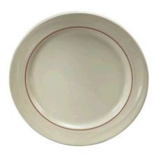 "Oneida F1040728125 Accent Burgundy 7-1/4"" Plate - 36 / CS"