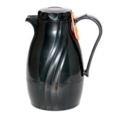 Service Ideas TNS20BL Twist N' Serv 0.5 Liter Black Plastic Server