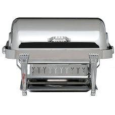 Bon Chef 13040 Elite Rect. 2 Gal Chafer w/ Silver Plated Aurora Legs