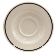 Homer Laughlin 0286-1191 Platinum Line 5-5/8 In A.D. Saucer - 36 / CS