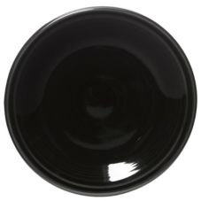 "Homer Laughlin China 464101 Fiesta® Black 7-1/4"" Plate - 12 / CS"