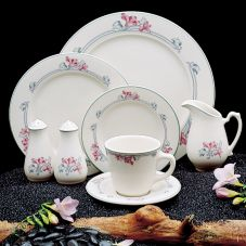 "Homer Laughlin 3701778 Seville® Sara 9-7/8"" Plate - 24 / CS"