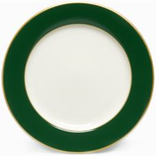 "Homer Laughlin China 210786 Pompano Green RE 12"" Plate - Dozen"