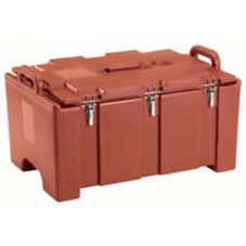 Cambro® 100 Series Brick Red Insulated Food Pan Carrier