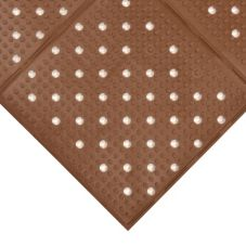 NoTrax® 411-565 Multi-Mat II® 3' x 4' Brown Floor Mat