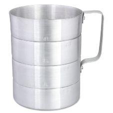 Browne Foodservice M40 4 Qt. Aluminum Dry Measuring Cup
