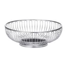 "TableCraft 4175 Chalet Chrome Plated 9-5/8"" x 3-1/4"" Basket"