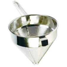 "S/S Coarse 12"" China Cap Strainer"