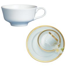 Steelite 42022370 Royal Court Esmeralda 5 Oz Tea Cup - 24 / CS