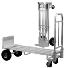"New Age Industrial RDC1850P Deck Size 18 x 50"" Delivery Cart"