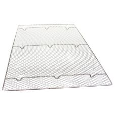 "Johnson-Rose 5726 17"" x 25"" X 1/2"" Wire Icing Grate"
