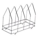 "Johnson-Rose 6490 4 Section 14-1/2"" x 10-1/4"" Wire Pizza Screen Rack"