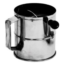 "Johnson-Rose 3376 S/S 6-1/2"" x 6-1/4""  Rotary Flour Sifter"