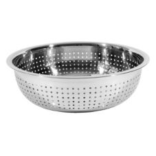 "Town Food Service 31711 11"" x 4"" Chinese Style Colander"