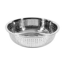 "Town Food Service 31713 13.5"" x 4.5"" Chinese Style Colander"