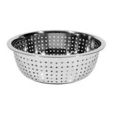 "Town Food Service 31813 13.5"" Chinese Style Large Hole Colander"