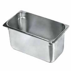 "Update International S/S 6"" Deep Third Size Steam Table Pan"