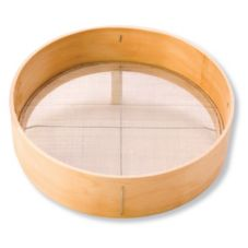 "Stanton Trading 1038 Wood Rim 14"" Sieve"