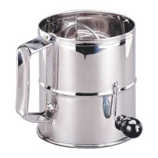 Adcraft® FLS-8 S/S Flour Sifter With Rotary Handle