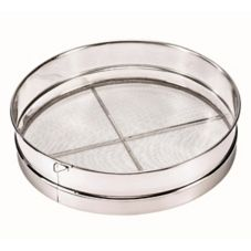 """Browne Foodservice S9916 16"""" Stainless Steel Mesh Wire Sieve"""