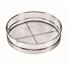 """Browne Foodservice S9914 14"""" Stainless Steel Mesh Wire Sieve"""