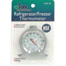 Update International THRE-20 Liquid Refrigerator Thermometer