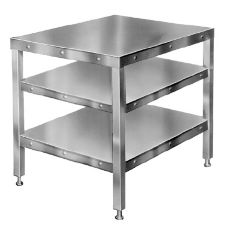 Hobart CUTTER-TABLE4 Two-Shelf Table for Food Cutter