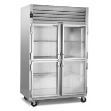 Traulsen G11000 G-Series Glass Door 1-Section Display Refrigerator