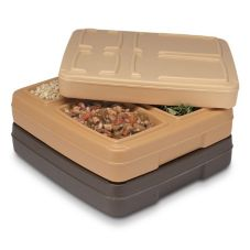 Dinex DX1O202 Omni II Harvest Gold Insulated Tray Server - 10 / CS