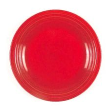 "Homer Laughlin China 0749-0326 Healthcare Scarlet 9"" Plate - 12 / CS"