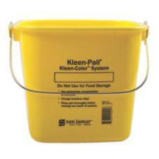 San Jamar® KP196KCYL Yellow 6-Quart Kleen-Pail®