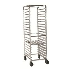 "Half Size Pan Rack, 6 Tray Capacity W/ 5"" Spacing, 26 x 21 x 38"