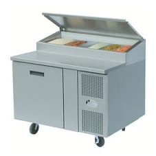 "Randell® 48"" Refrig. Raised Rail Food Prep Table"