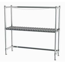 Metro® HD Super™ 6-Keg Beer Handling Rack w/ 1 Dunnage Rack