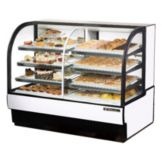 True® TCGDZ-59 White 30.4 Cu Ft Refrigerated / Dry Bakery Case