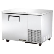 True TUC-44 S/S 11.4 Cu Ft Undercounter Refrigerator With 2 Shelves