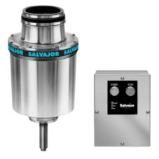 "Salvajor 7.5-HP Disposer with 15"" Cone Assembly and Fixed Nozzle"