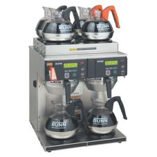 BUNN® 38700.0014 AXIOM Twin Airpot Coffee Brewer with 6 Warmers