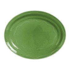 "Syracuse 903035615 Cantina® Sage 9-5/8"" Platter - 12 / CS"