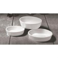 Diversified Ceramics DC517-W White 12 Oz. Oval Baker - 24 / CS