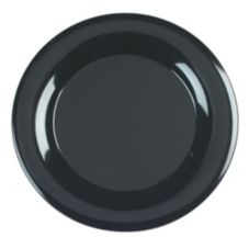"Carlisle 4440403 Designer Displayware 15"" Black Round Platter"