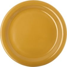Carlisle® 4350122 Dallas Ware Honey Yellow Dinner Plate - 48 / CS