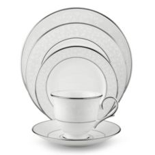 Lenox Group 6140990 5 Piece Opal Innocence Place Setting Set
