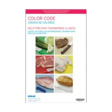 "DayDots 20427-02-31 17"" x 11"" Color Selector Chart Poster"