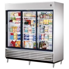 True® TSD-69G S/S 69 Cu Ft Reach-In Refrigerator